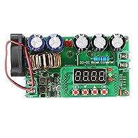 Yadianna 電圧コンバータモジュールボード600W DC-DCデジタルControlAdjustableステップアップ高効率モジュールの定電圧電流太陽光マウント電源トランスモジュールを充電