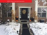 Summerstep Home DM24x36C-RES Residential Snow Melting Heated Door Mat, Anti-Slip, Ideal Winter Safety Snow Mat; (Requires SMPC Power Cord), Black, 24' X 36'