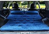 XIAOXI Colchón del Coche Cama De Viaje Vehículo SUV Almohadilla De Escape Trasero Vehículo Todo Terreno Estera Inflable para Auto Colchoneta De Auto-conducción,Blue