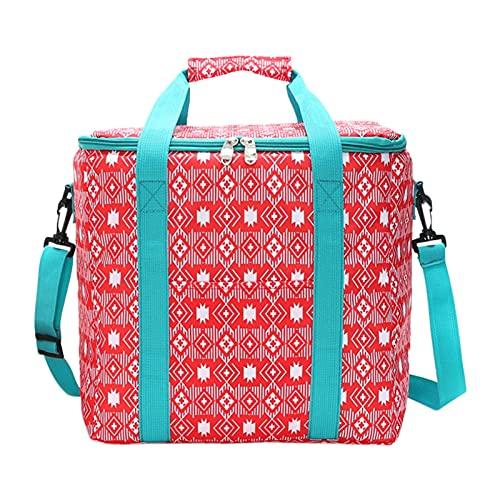 Povanjer Cooler Bag - Bolsa de refrigeración para playa, picnic, deportes