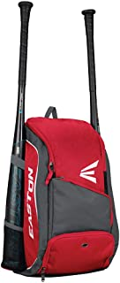 EASTON GAME READY Bat & Equipment Backpack Bag | Baseball Softball | 2020 | 2 Bat Pockets or for Water Bottles | Vented Main Compartment | Vented Shoe Pocket | Zippered Valuable Pocket | Fence Hook