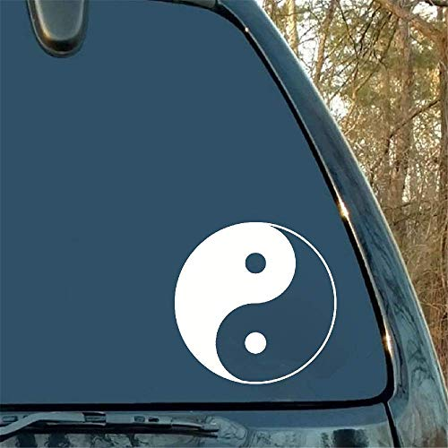 VinMea Car Sticker Car Decal AR Stickers Chinese Tai Chi Gossip Packaging Accessories Decal Pattern Decorative Graphics