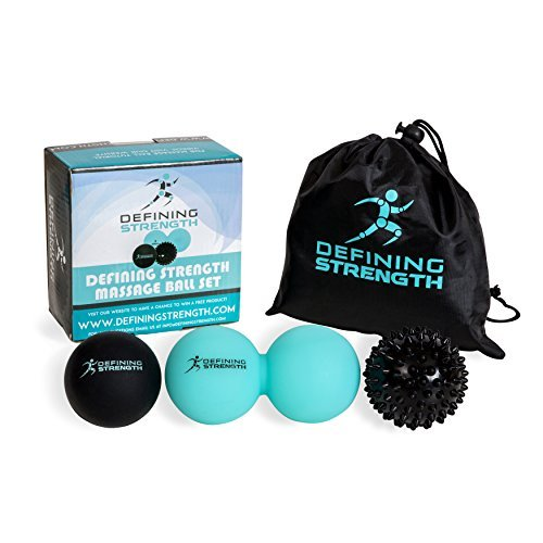 Top 3 Massage Balls Set, Spiky b...
