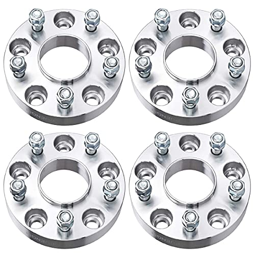 PUENGSI Wheel Spacer 1.25 inch 5x5 to 5x5/5x127mm to 5x127mm 4PCS Thread Pitch 1/2' Hubcentric Wheel...