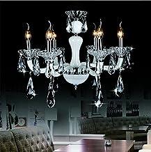 GOWE Modern 6 * 25W*E14 Bulbs W60 X H68CM Crystal candle Chandelier Pendant Lamp suspension Light lighting AC 110V/ 240V