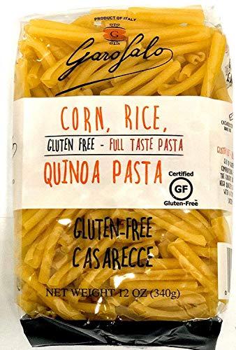 GAROFALO Casarecce Corn, Rice, Quinoa Pasta, 12 OZ 4 PACK