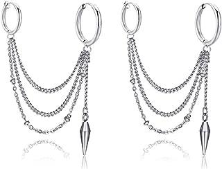 Best clip on chain earrings Reviews