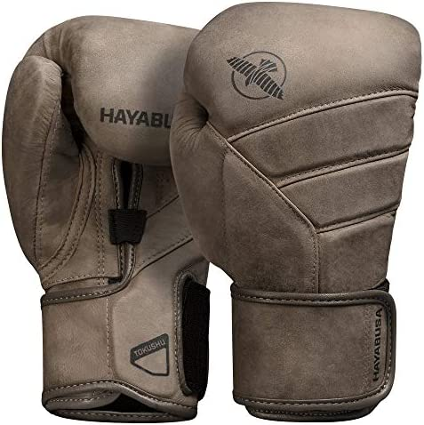 Hayabusa T3 LX Italian Leather Boxing Gloves for Men and Women Brown 16 oz product image