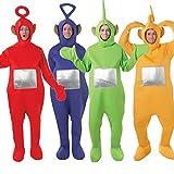 Fancy Me - Herren Damen Erwachsene Teletubbis Kostüme Verkleidungen