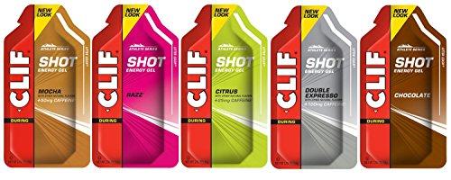 Clif Shot Gel - Gel energético para deportistas (12 sobres)