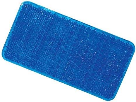 Grass Effect Bath Mat Anti-Mould Non-Slip Bathtub Mat Textured Bristle Surface