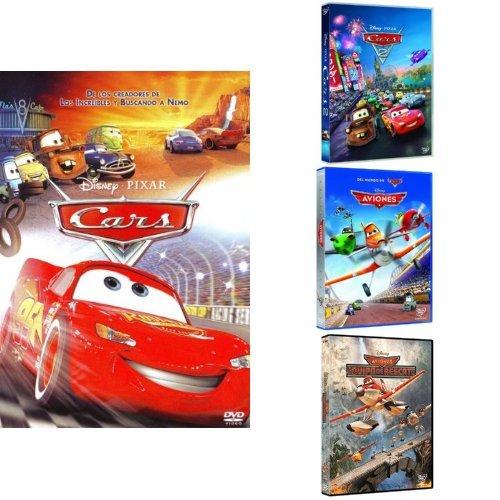 Pack Los Pixar Más Veloces ( Cars + Cars 2 + Aviones + Aviones Equipo De Rescate)  [DVD]
