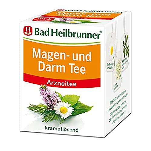 Bad Heilbrunner Husten- und Bronchial Tee im Filterbeutel, 4er Pack (4 x 8 Filterbeutel)