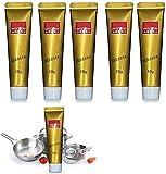 LASULEN 5/10 Piezas Steelix Magic Metal Polish Cream, Ultimate Metal Polish Cream, Fixini All Metal Polish Cream, Antique Coin Pulidor, Pasta de Pulido de Metales, para Limpiador de Cocina (10 g)