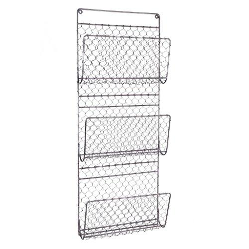 Dibor Garden Tool Shelf - 3 Tier Potting Shed Storage Basket