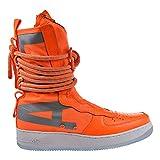 white air force 1 high top - Nike SF Air Force 1 High Top Mens Boots Total Orange/White aa1128-800 (8.5 D(M) US)