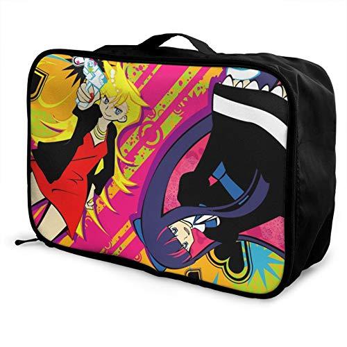 Medias con cinturón de garterbelt caja de almacenamiento para equipaje de viaje con bolsa de viaje para llevar durante la noche