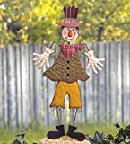 The Lakeside Collection Silly Scarecrow Garden Stake - Halloween Yard Decoration