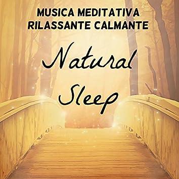 Natural Sleep - Musica Meditativa Rilassante Calmante per Studiare Meglio Spirito Libero Potere della Mente con Suoni della Natura Benessere Strumentali