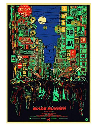 H/P Movie Blade Runner 2049 Retro Poster Wall Stickers Living Room Home Decoration Painting Frameless 50X70Cm W2249