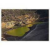 artboxONE Poster 30x20 cm Natur Lago Verde auf Lanzarote -