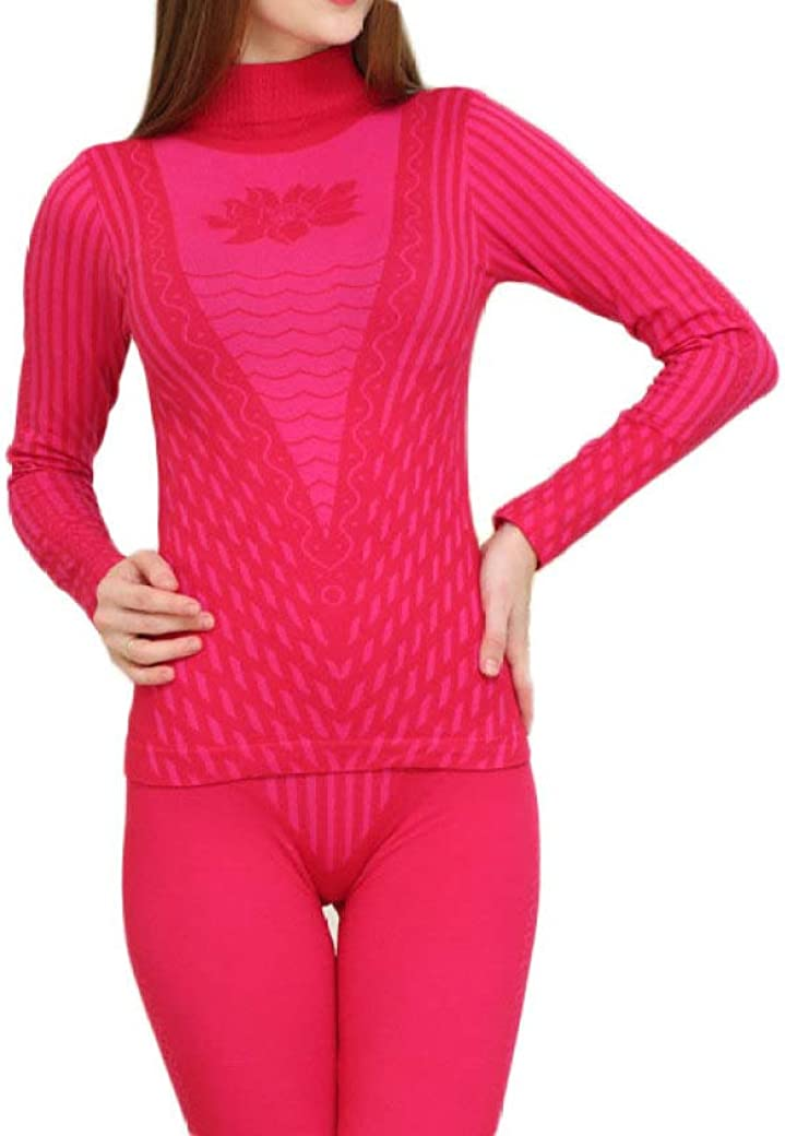Women's Thermal Underwear Set Winter John All stores are sold Cotton Turtleneck Long El Paso Mall