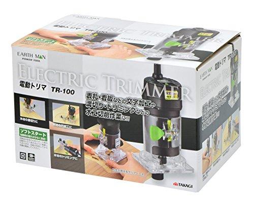 高儀『EARTHMAN電動トリマTR-100』