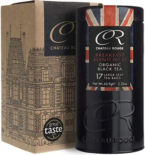Chateau Rouge - English Breakfast No.27, Bustine di Tè Nero Biologica di Foglia Intera