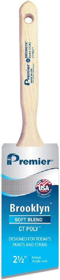 Premier 17292 Brooklyn Soft Max 82% OFF Angle Steel Stainless Brush Max 83% OFF Paint