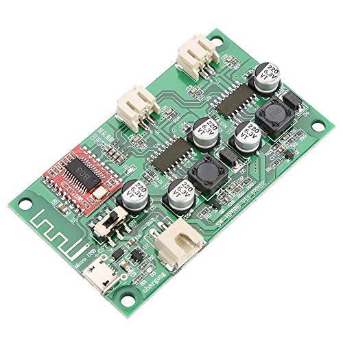 2x6W Bluetooth Amplificador de Potencia Placa DC 5V / 3.7V Batería de Litio Estéreo con Carga Digital Gestión HF69B