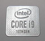 VATH Made Intel Core i9 10th Gen Metal Sticker 18 x 18mm / 11/16' x 11/16' [1042]