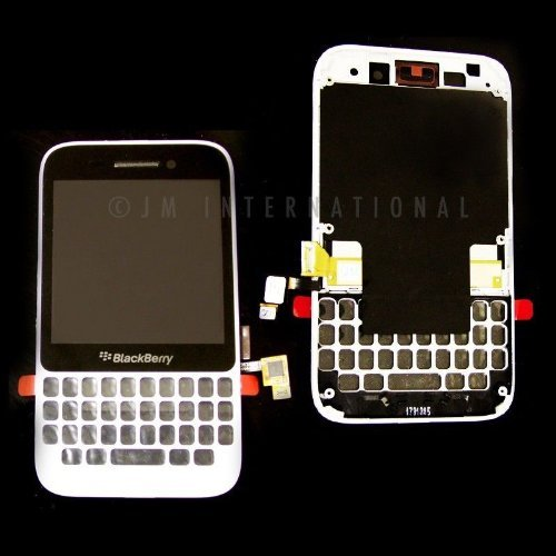 ePartSolution-BlackBerry Q5 LCD Touch Screen Digitizer Assembly White Replacement Part USA Seller