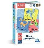 Falomir- Silaba Sibertigarriak. Juego de Mesa Educativo para Mejorar la lectoescritura. Puzle. (30033)