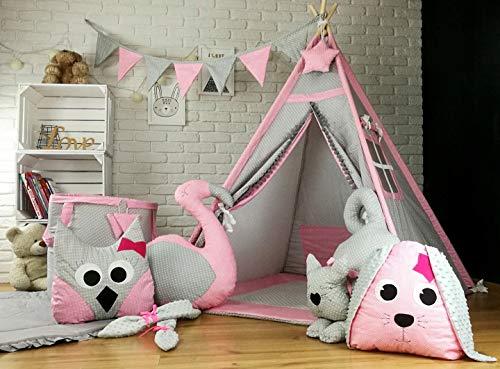 TS Tipi Teepee 6 Zubehör Spielzelt Kinder Zelt Kinderzelt Indianer Decke Sweet Pets