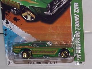 Hot Wheels 2011 1:64 Scale '71 Mustang Funny CAR Treasure Hunt #10/15