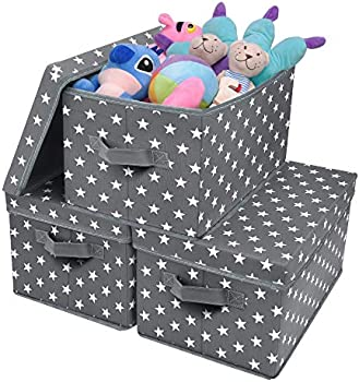 3-Pack Granny Says Stackable Large Storage Bins with Lids