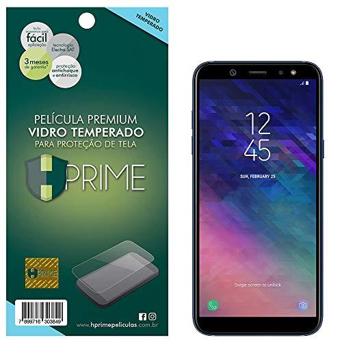 Pelicula de Vidro temperado 9h HPrime para Samsung Galaxy A6 2018, Hprime, Película Protetora de Tela para Celular, Transparente