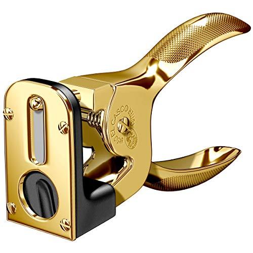 Zigarrenschneider - Schwarz & 23-Karat vergoldet