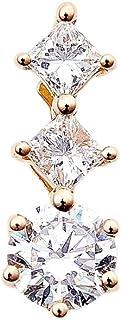 カナディアンダイヤモンド ペンダントヘッド 計0.17ctUP [K18RG] 専用ケース付