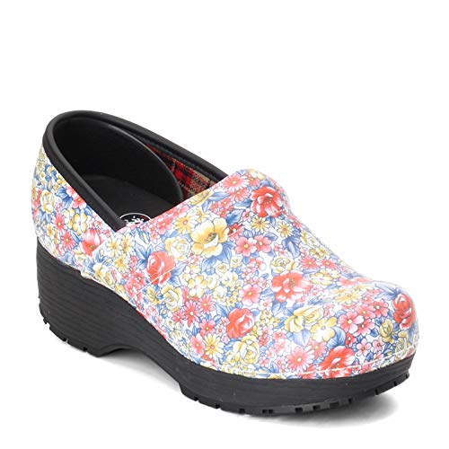 Skechers Work Clog SR Slip Resistant Womens Shoes Multi 6.5