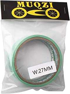 JMcall Mountain Bike Ring Vacuum Tire Cushion Air Tight High Pressure Ultra Light 10M(Color:Green & Material:.)
