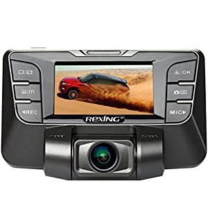 REXING S300 Dash Cam 1080P 170 Degree Wide Angle