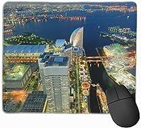マウスパッド ゲーミングマウスパット 横浜 高級感 最適 高級感 おしゃれ 防水 耐久性が良い 滑り止めゴム底 ゲーミングなど適用 マウスの精密度を上がる 疲労軽減 作業 マウスパット ( 25*30 Cm )