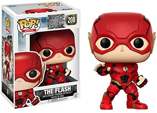 Funko Pop!- Pop Movies: DC Figura de Vinilo The Flash, colección Justice League, Multicolor (13488)