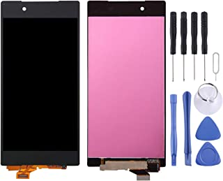 Mobile Phone LCD Screen LCD Display + Touch Panel for Sony Xperia Z5 / E6603 (5.2 inch)(Black) LCD Screen (Color : Black)