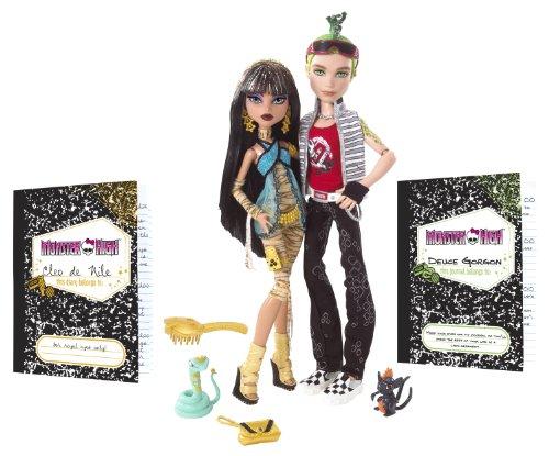 Monster High Cleo De Nile and Deuce Gorgon Giftset