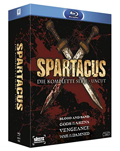 Spartacus - Die komplette Serie Uncut