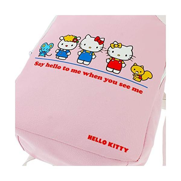 51706oSZDnL. SS600  - Hello Kitty Essential - Mini mochila | piel sintética | correas ajustables | Hello Kitty & Friends Rosa