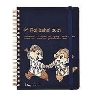 ディズニーストア ロルバーン 2021 スケジュール帳 チップ&デール