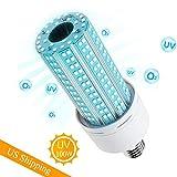 UV Lamp, 100W E26, E27 Led UVC Light Bulb, Suitable for Home, Restaurant,Office, Warehouse, Supermarket UV Light Bulb
